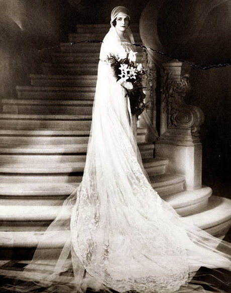 1920 vintage wedding dresses for Wedding dresses in the 1920s