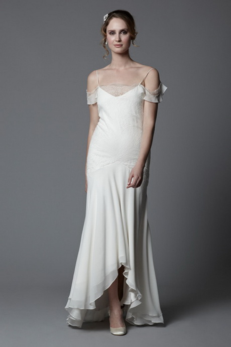 1920s vintage style wedding dresses for Vintage 20s wedding dresses