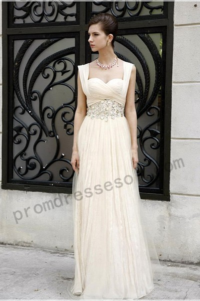 Tiffany Wedding dresses Sleevless Picture color Chiffon Sweetheart(0329)