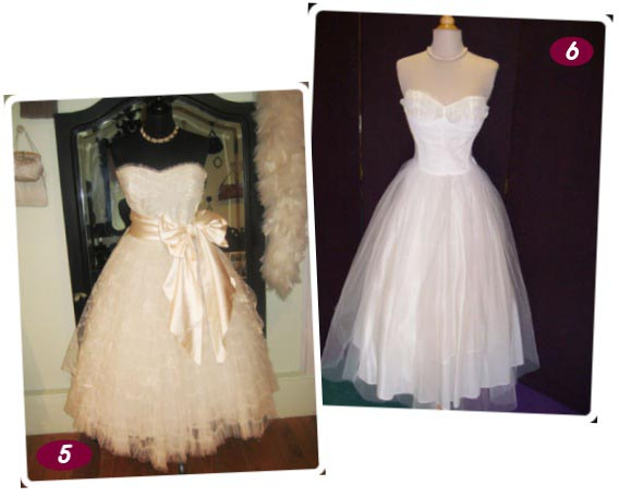 vintage 50s wedding dresses