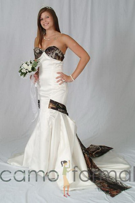 Camo wedding dresses for Red camo wedding dresses