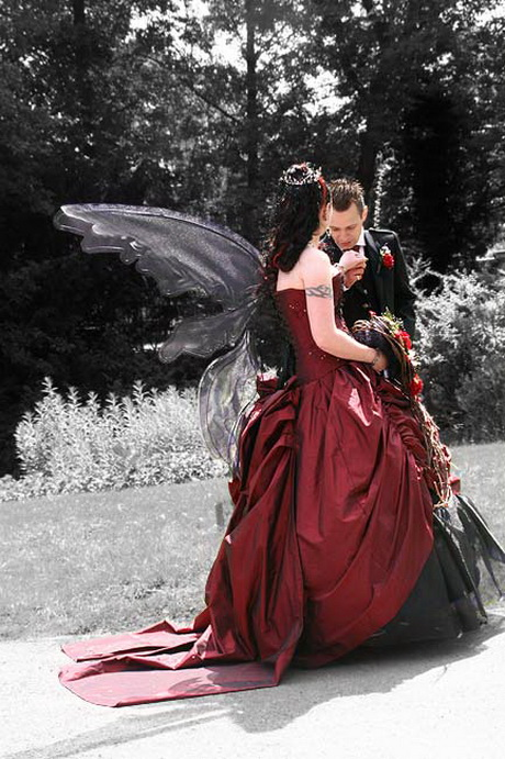 Gothic wedding dresses for Gothic wedding dresses cheap