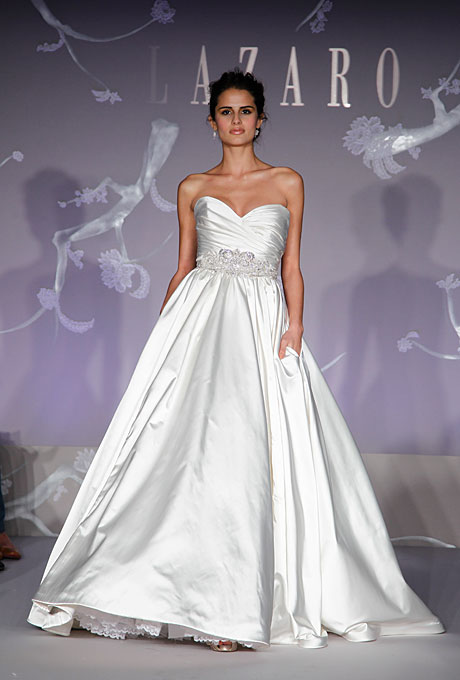 Lazaro wedding dresses for Where to buy lazaro wedding dresses