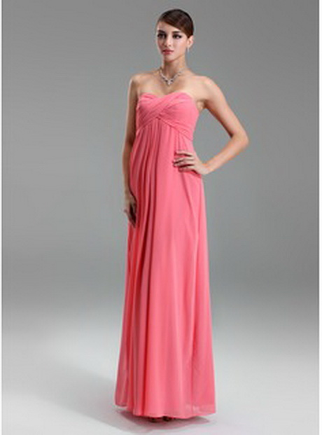 Pink Maternity Bridesmaid Dresses 96