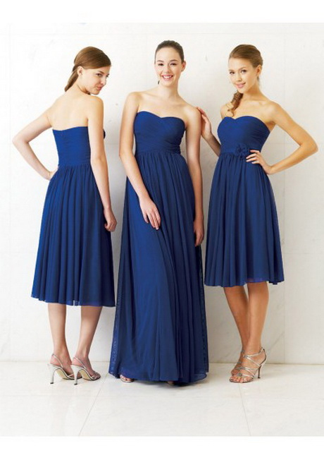 Yellow And Navy Blue Bridesmaid Dresses 110