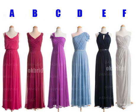 Affordable Bridesmaid Dresses By Color 83