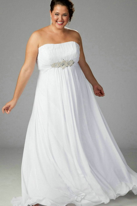 All White Dresses For Plus Size Women