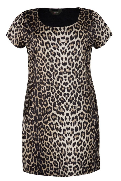 Plus Size Animal Print Prom Dresses 9