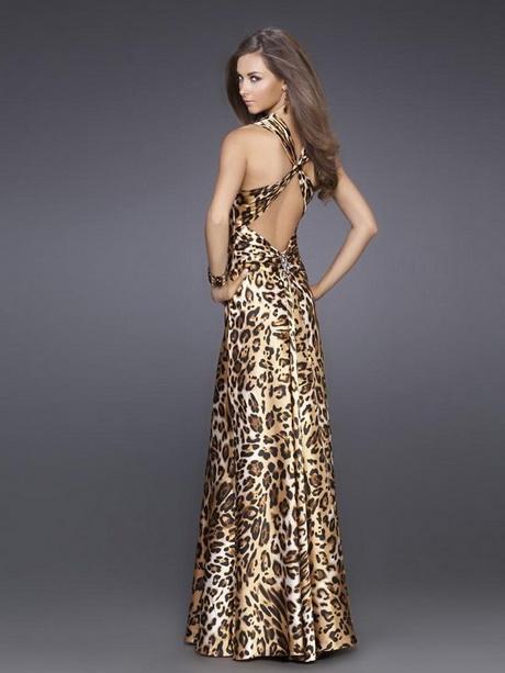 Леопардовые вечерние платья