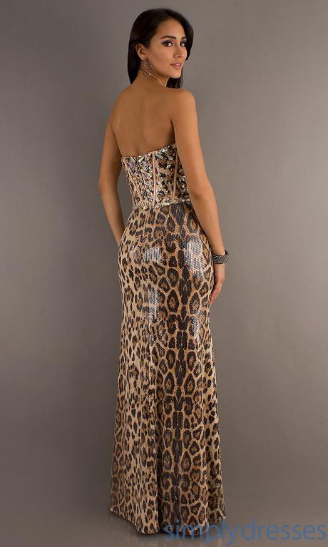 Animal print formal dresses for Zebra print wedding dress