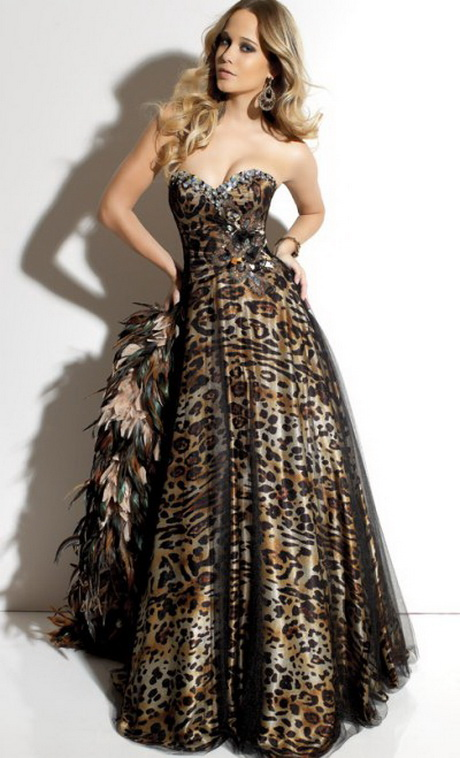 Animal Print Formal Dresses