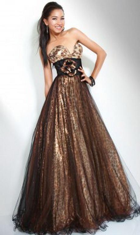 Animal Print Prom Dresses
