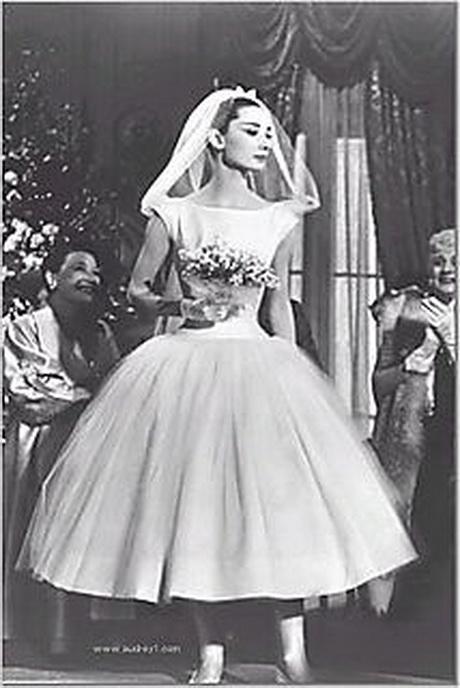 Audrey Hepburn Wedding Dresses