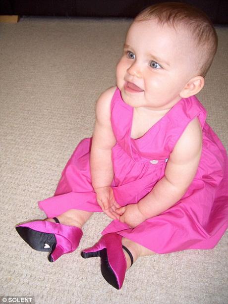 baby high heels
