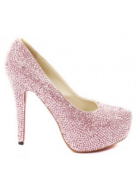 baby pink high heels