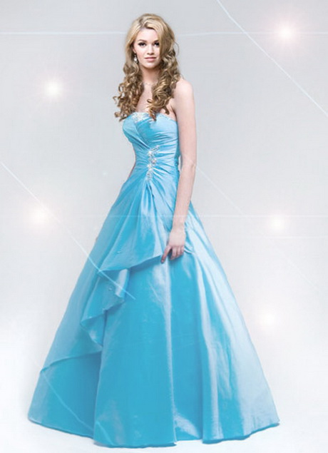 2019 year for girls- Blue baby homecoming dresses