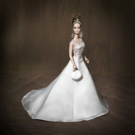 play barbie wedding dress design