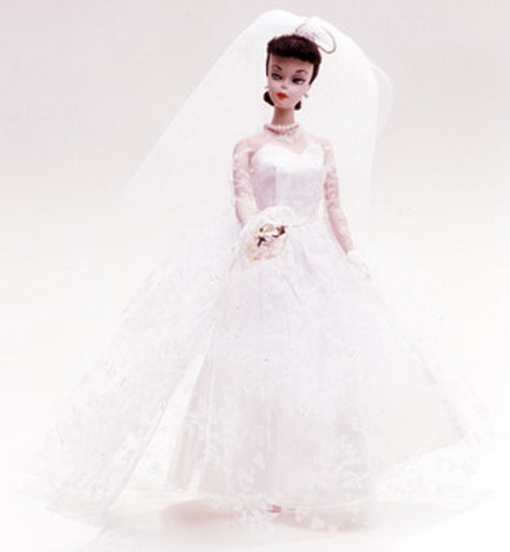 barbie says yes in many different dresses most of them designed