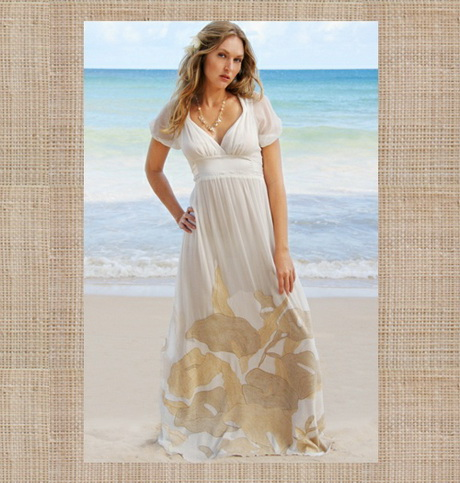 Beach casual wedding dress for Wedding dresses casual beach
