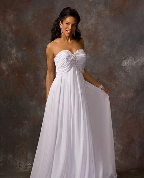 Beach casual wedding dresses for Beach wedding dresses for plus size