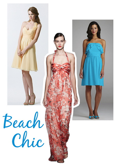 Beach wedding dress attire for guests