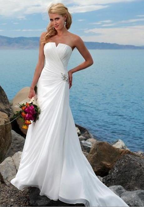 Beach Wedding Dresses Simple