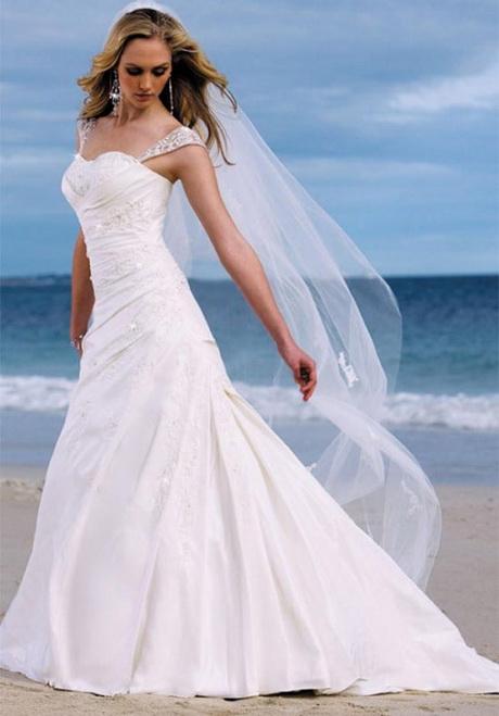 Beautiful beach wedding dresses for Gorgeous beach wedding dresses