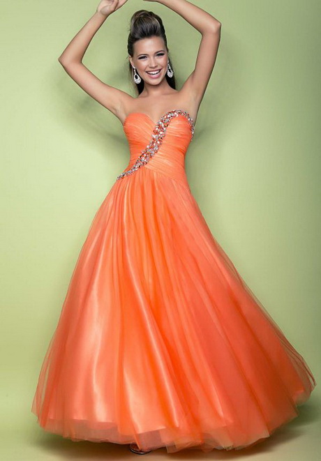 Semi Poofy Prom Dresses 64