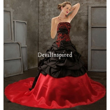 Dresses gothic wedding dresses red and black gothic wedding dresses
