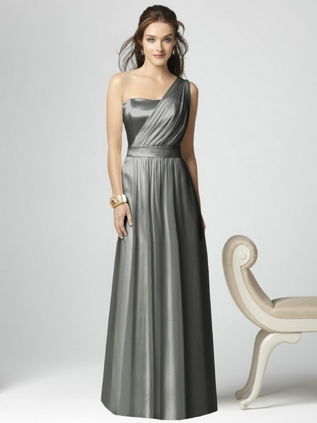 Black and silver bridesmaid dresses for Silver wedding dresses for bridesmaids
