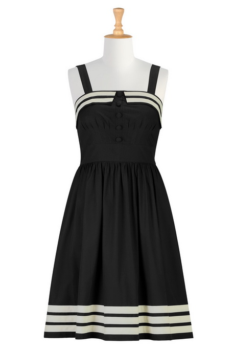 black and white dresses for