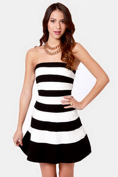 LAUNDRY NWT L@@K BLACK/WHITE Strapless Striped Ball Gown, size 0 2 See more like this XSCAPE Black White Striped Skirt Jersey Mesh Inset V-Neck Ball-Gown Dress 14W 1X New (Other) · Xscape · Size (Women's)W.