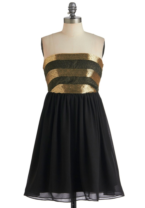 Modcloth - Black Dancing