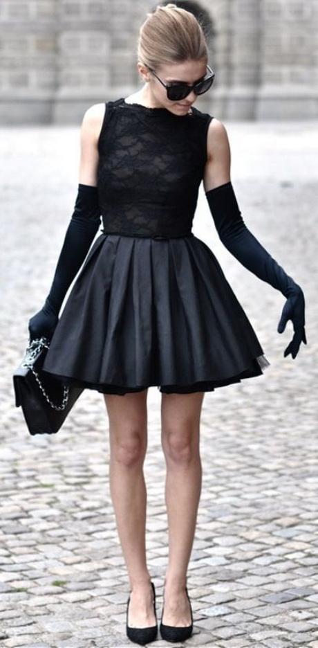 Black Dress Gloves