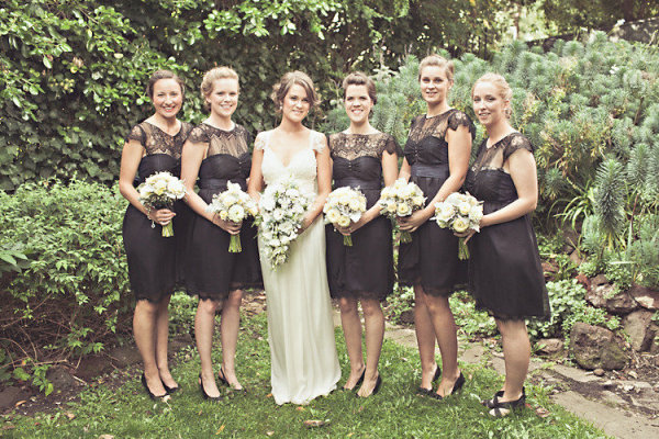 Bridesmaids in Little Black Dresses by Anna Campbell