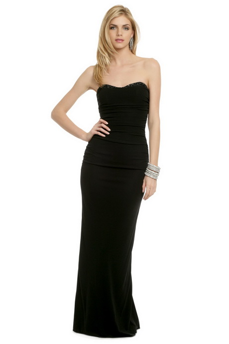 Black Tie Ball Gowns