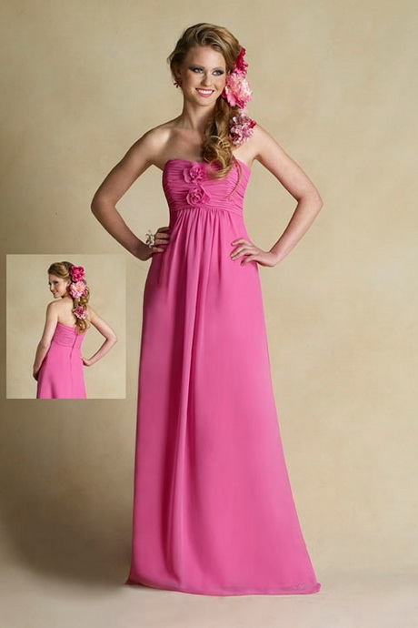 Black and pink junior bridesmaid dresses for Black and pink wedding dress