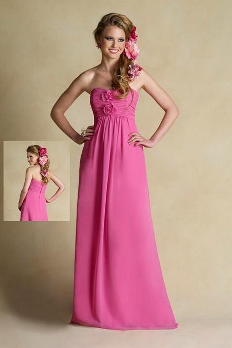 Black And Pink Junior Bridesmaid Dresses Discount