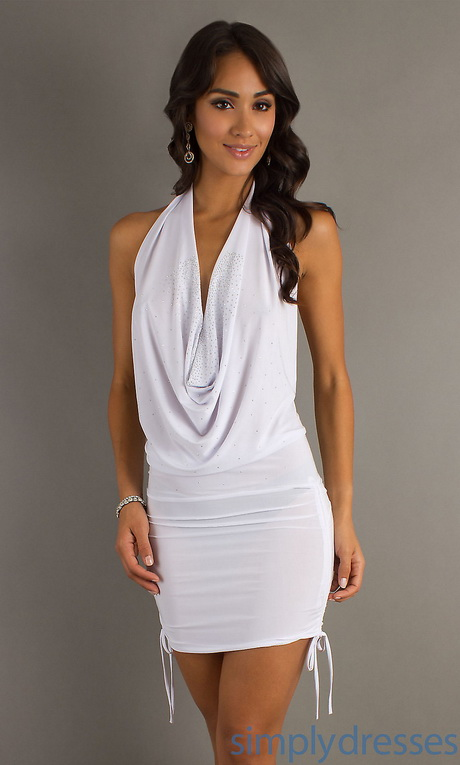 Black and white party dresses - White dress party ...