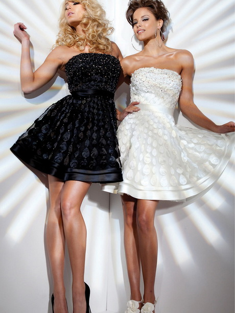 Buy White and Black party dresses pictures picture trends