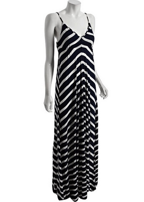 Fashoinable U Neck Sleeveless Striped Color Block Maxi Dress For Women - White And Black - S (0) XRUMMNYGS01 Note: For multiple item orders, the processing time will be based on the item with the longest processing time.
