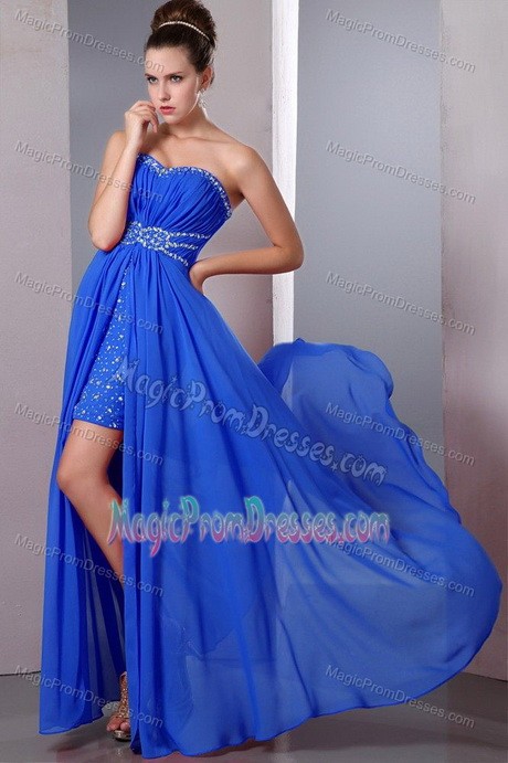blue semi formal dresses
