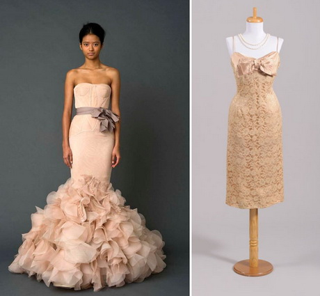 popular blush colored wedding gowns