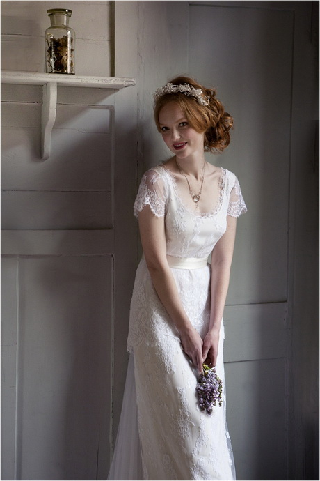 Boho vintage wedding dress Hippie vintage wedding dresses