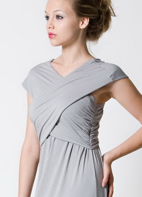 If you would like to purchase clothing made for nursing mothers, however, there are plenty of designs and styles to choose. With a slit or a flap in the front of the garment, nursing clothes can make breastfeeding easier and more discreet.
