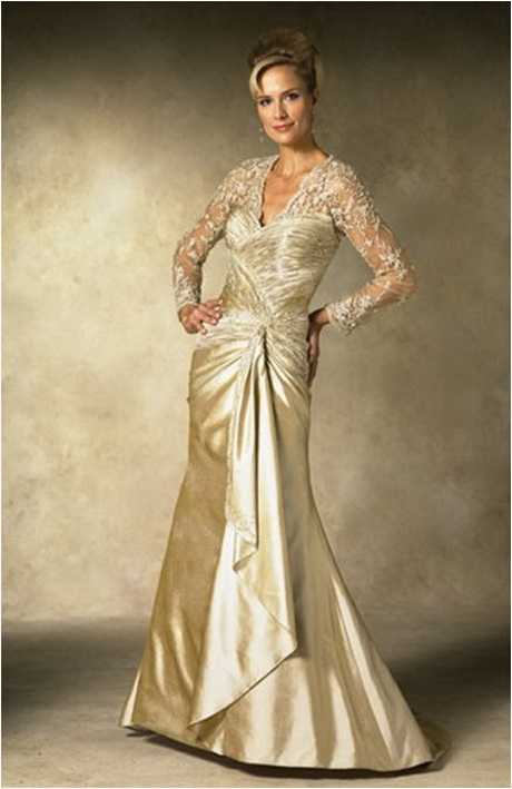 Bridal gowns for older brides for Older brides wedding dresses