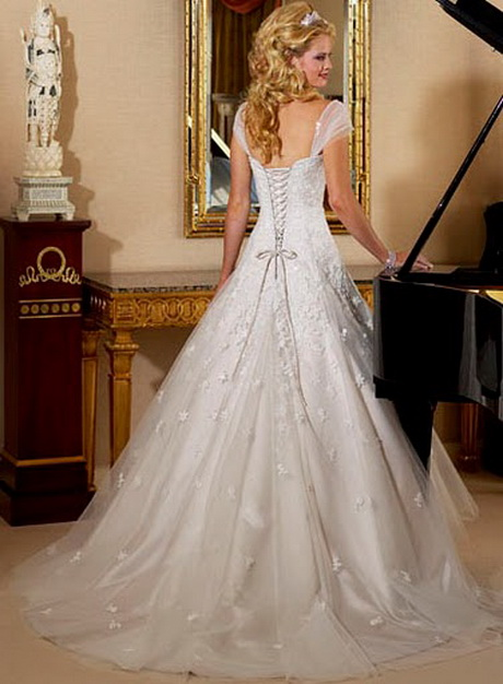 Bridal gowns for older women for Mature women wedding dress