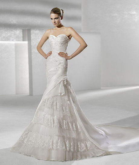 Ideas For Second Time Weddings: Bridal Gowns For Second Marriages
