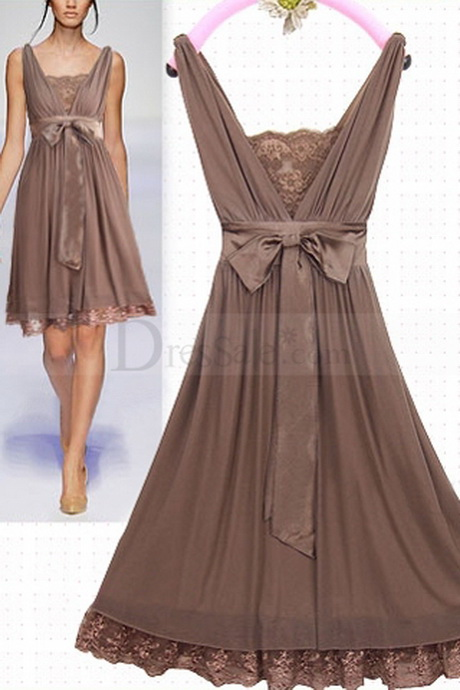 brown lace dress ForBrown Lace Wedding Dress