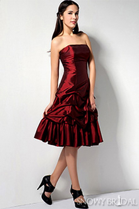 Burgundy bridesmaid dress for Burgundy and gold wedding dress
